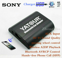 Yatour Bluetooth Hands Free Phone Call Car Adapter YT BTA For Sony Head Unit AUX Input