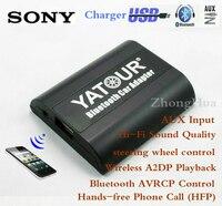 Yatour BTA A2DP muzyka Bluetooth samochodowy zestaw głośnomówiący rozmowy telefonicznej Wejście AUX Bezprzewodowe Odtwarzanie audio dla Sony Jednostka główna Darmowa wysyłka
