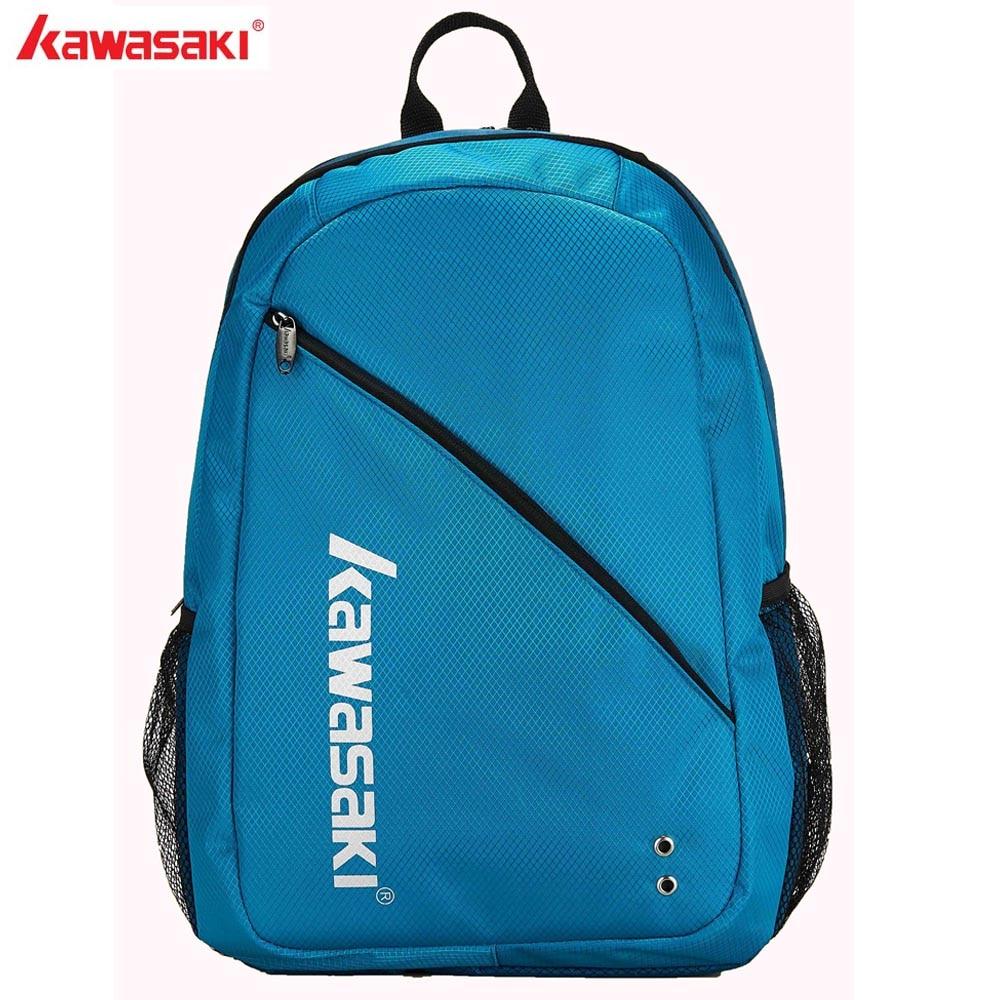 KAWASAKI 브랜드 테니스 가방 배드민턴 가방 라켓 배낭 인체 공학적 디자인 신발 별도의 룸 스포츠 백 팩 KBB-8208