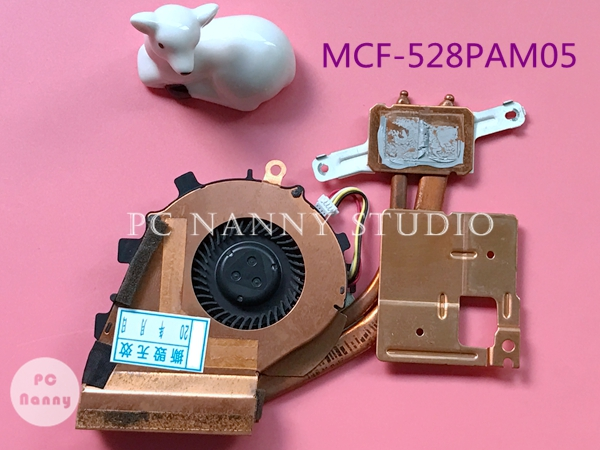MCF-528PAM05 For Sony Vaio VPC-Z11 VPC-Z12 VPC-Z13 VPCZ1 VPC-Z1 VPCZ12L9E PCG-31112M CPU Fan With Heatsink
