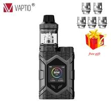 Vaper 5.0ml Electronic Cigarette Vaptio Wall Crawler Kit 80W Firmware Upgradeable vaporizer 510 thread tanks цена