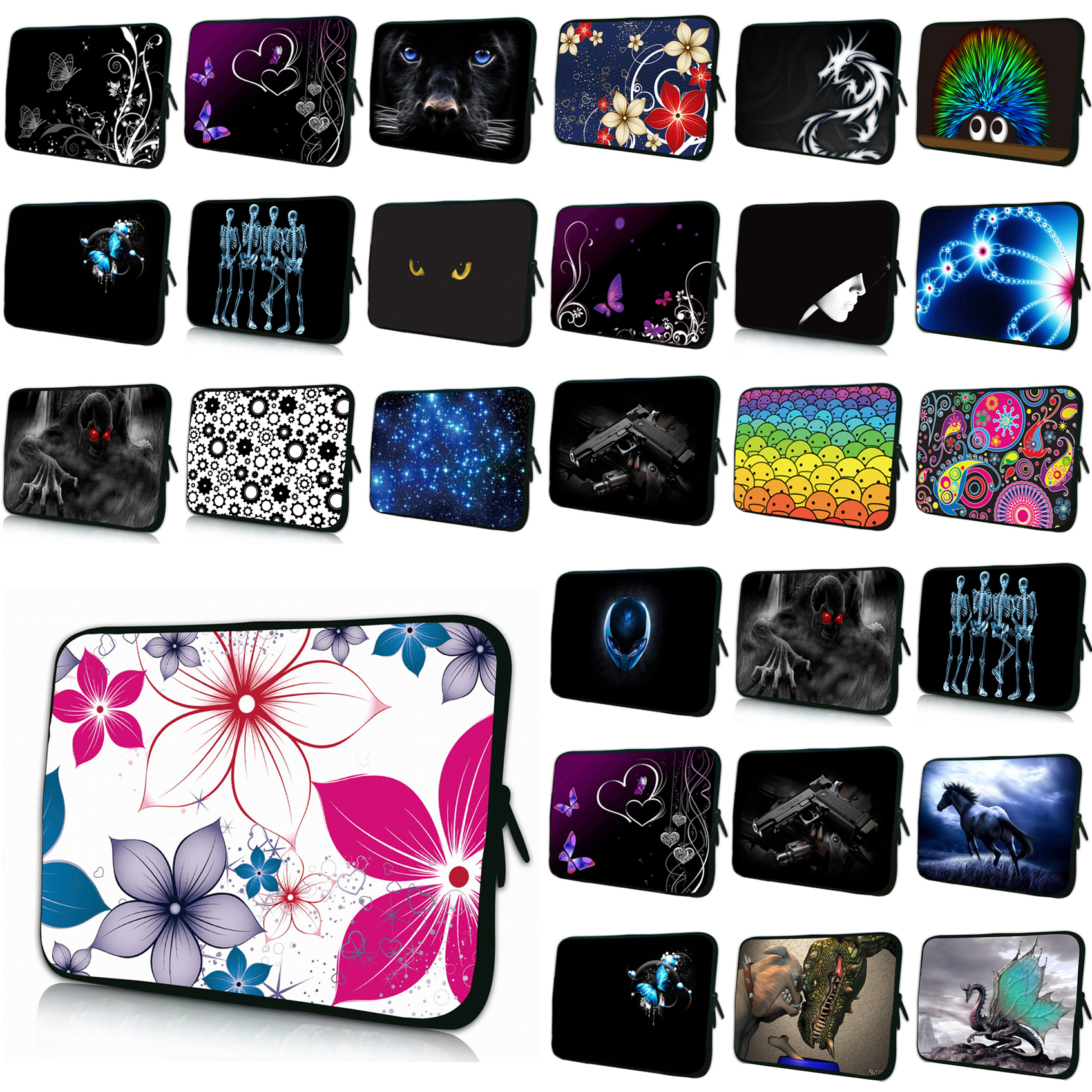 Laptop Bag 15.6 15.4 13.3 11.6 Netbook Nylon Inner Cases For Macbook Air Tablet 10.1 12 14 Briefcase Netbook Pouch Cover Bags