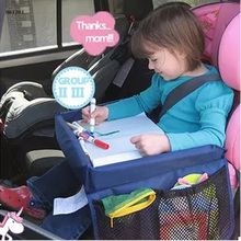 Car styling High Quality Waterproof Table Car Seat Tray Storage Kids Toys Infant Stroller Holder For Children Kids Baby Rattles