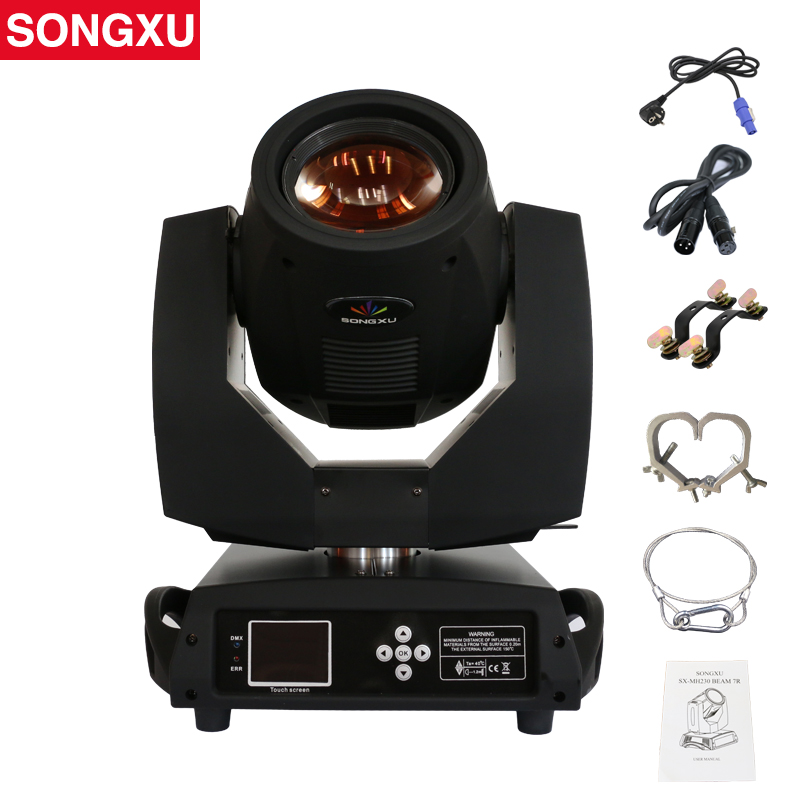 230W 7R Moving Head Light Touch Screen Beam 230 Beam 7R Stage Disco Lights SX MH230