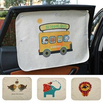 Parasol de protección UV para ventana de coche, parasol lateral para ventana de coche, película de ventana de 70cm x 50cm, 1 unidad