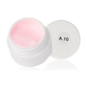 Image 4 - Woobela 30 pcs חצי קבוע UV ג ל לק סט משרים כבוי LED ציפורניים ג ל לכה מוצק טהור צבע ציפורניים ציור ג ל