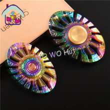 1 Pcs Butterfly type Colorful hand Spinner Fidgets EDC finger spinner metal For Autism and ADHD Adult Anti Stress Toys