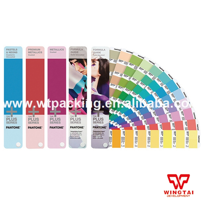 2017 Genuine Pantone Color Guide GP1605N Solid Color Guide Set Coated & Uncoated original pantone plus series solid guide set gp1605n coated