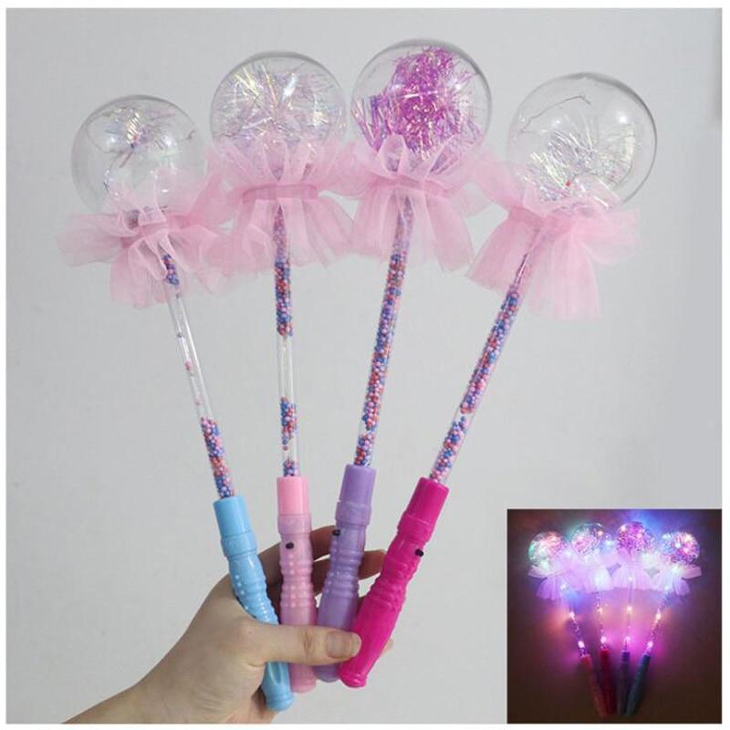 10Pcs/lot New Luminous Magic Wand Flash Children's Toys Colorful Star Light Toys