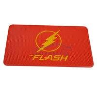 New Car Accessories Mat Cell Phone Pad The Flash Non Slip Pad Cartoon Dashboard Slip Stickery