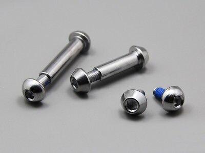 10pcs M8 Thread Dia 29mm Body Length Carbon Steel Socket Head T-Nut w Screw Kit