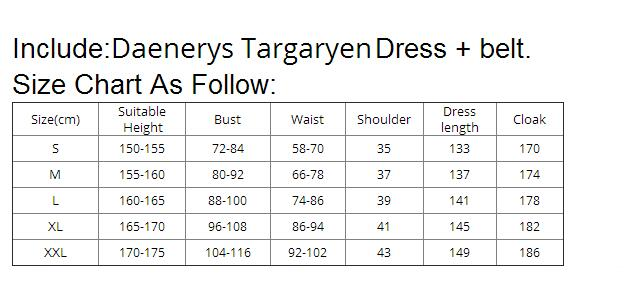 game of thrones daenerys dress
