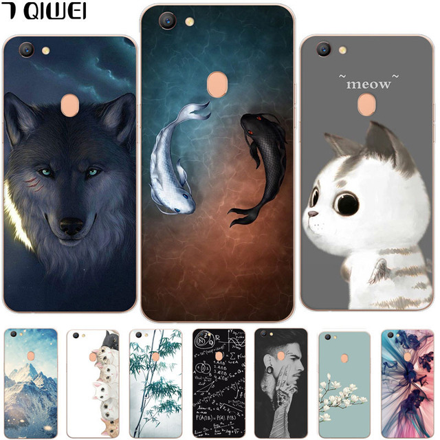 wholesale dealer c5e70 24b7e US $1.14 5% OFF|For OPPO F5 Case Silicone Cute Cat Cartoon Clear Back Phone  Cases For OPPO F5 Youth Cover TPU Animal Girls for OPPO F5 A73 A73T-in ...