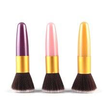 цены на 1Pcs Professional Flat Makeup Brushes Powder Liquid Foundation Blush Brush Concealer Contour Facial Make up Brushes Tool  в интернет-магазинах