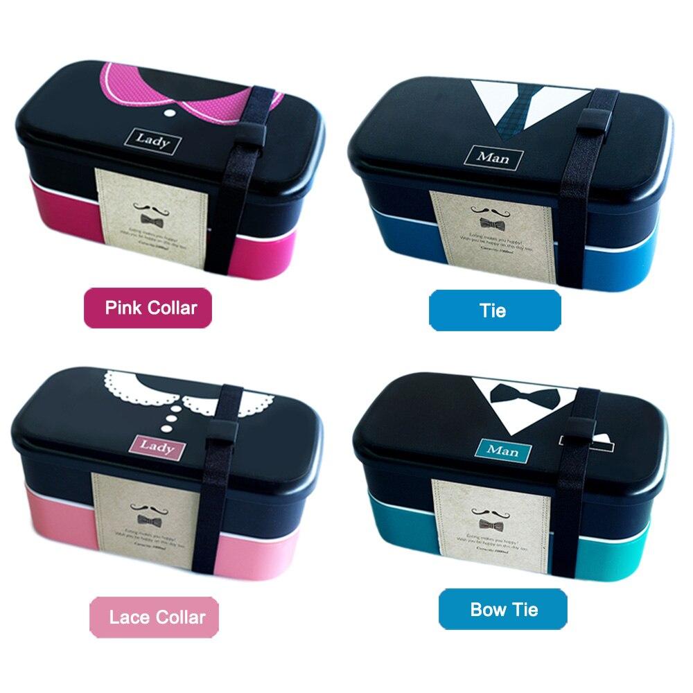 Perancis Romantis Jepang Bento Plastik Boxs Untuk Gadis Anak Sushi Kotak Makan Box Lunch Exclusive Siang Lunchbox Wadah Makanan Microwave Aman Bpa Gratis Di Set Dari