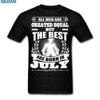 GILDAN T Shirt Fashion Online T Shirts Design Crew Neck Short Sleeve Zomer Created Equal Birthday