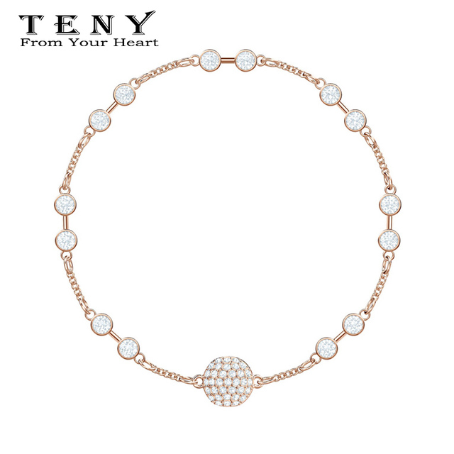 d8a4986ff TENY Fashion Charm 100% Sterling Silver SWAROVSKI REMIX COLLECTION CARRIER Women  Jewelry Free Mail