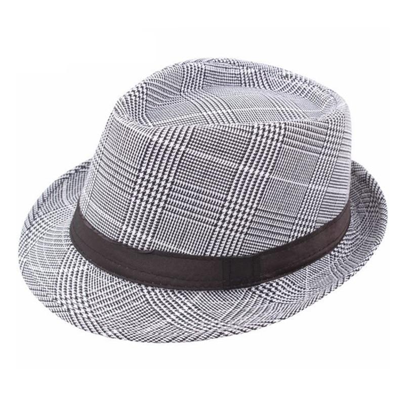 e14795446f9be9 XdanqinX Klassische Vintage Erwachsene männer Fedoras Hut Mittleren Alters  Mode Gentleman Jazz Hüte Marken Retro Top Caps Für Männer ~ Super Deal July  2019
