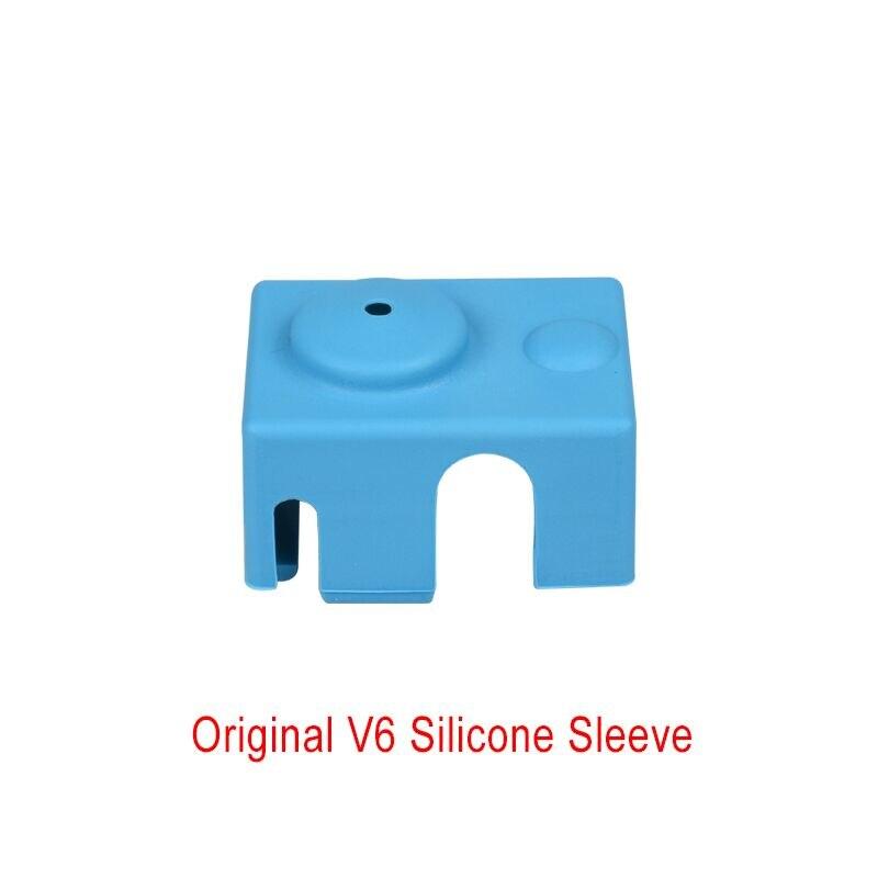 1 PC V6 Silicone Socks Just Fit To The Original V6 Block Reprap Heater Block Silicone Insulation For 3D Printer Parts1 PC V6 Silicone Socks Just Fit To The Original V6 Block Reprap Heater Block Silicone Insulation For 3D Printer Parts