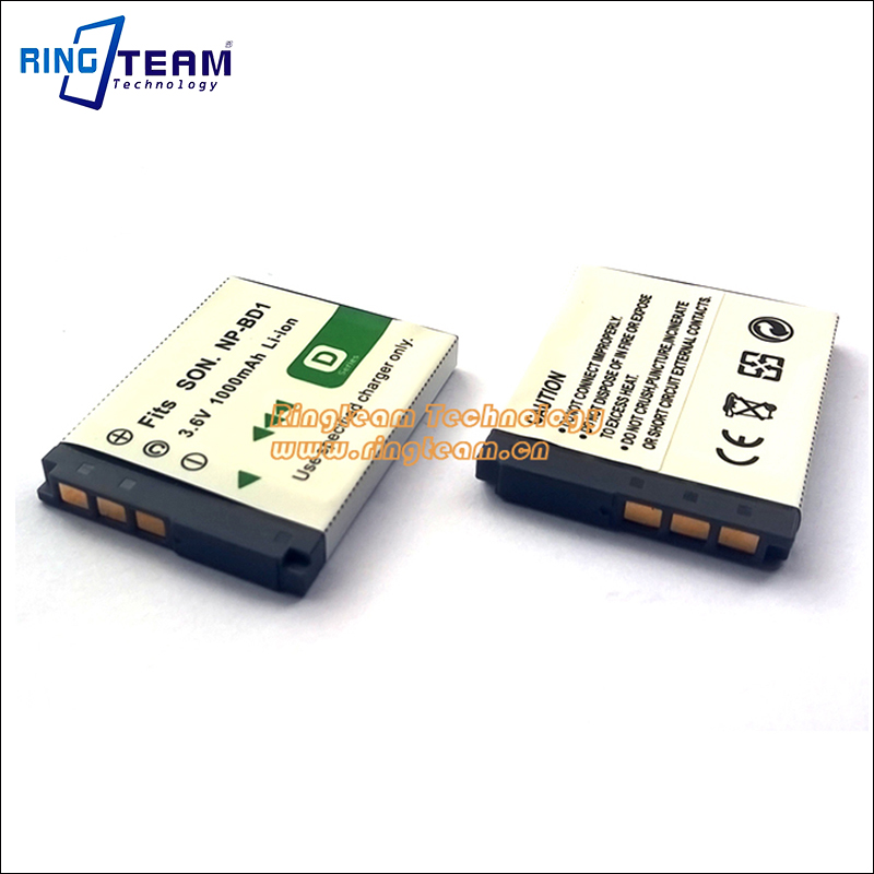 10pcs Rechargeable Np Bd1 Npbd1 Np-bd1 Camera Battery For Sony Cybershot Dsc G3 T2 T70 T75 T77 T200 T300 T500 T700 T90 T900 Tx1 Finely Processed