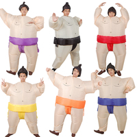 Inflatable Sumo Wrestler Costume for Adults Aeveral Colors Halloween Costume Cosplay