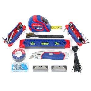 Image 5 - WORKPRO outil de réparation maison avec sac à outils, ensemble doutils, outils à main 322 pièces