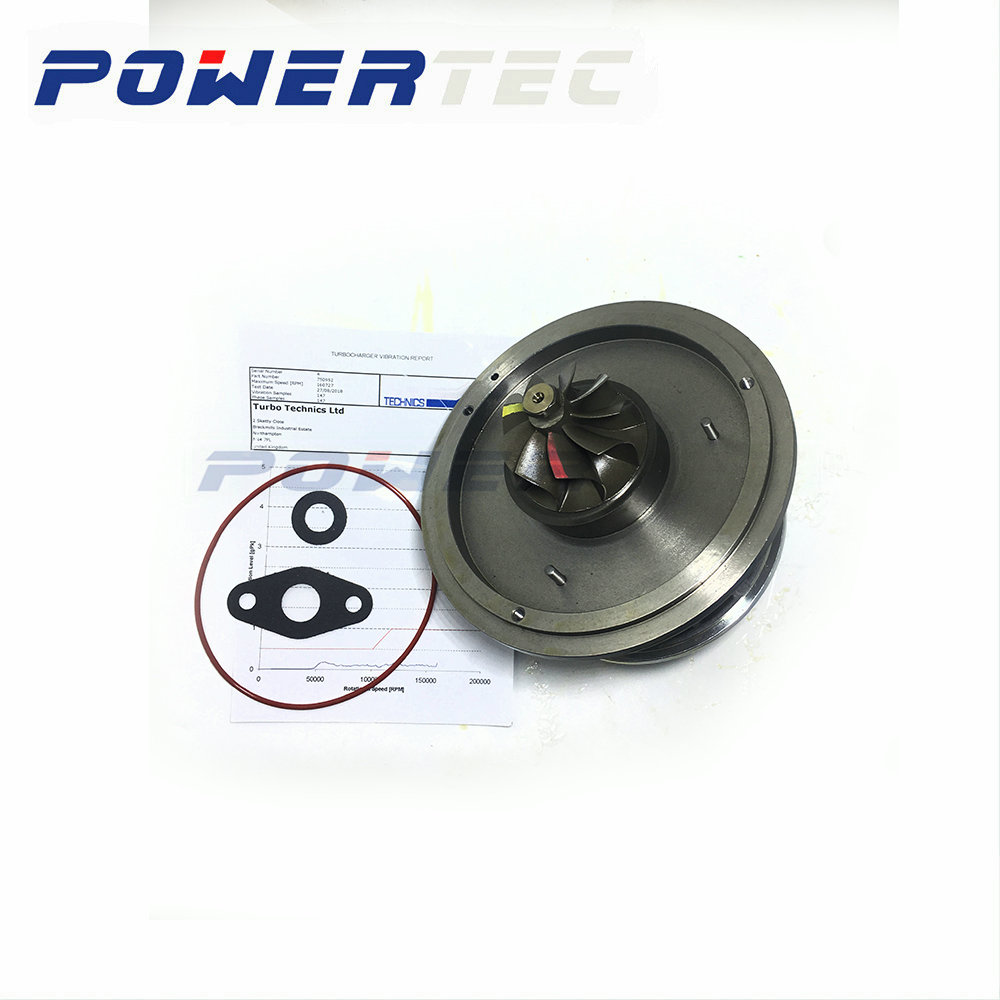 Garrett turbine <font><b>GT1752V</b></font> turbo cartridge core CHRA 750952 for BMW 120D E87 M46TU 163HP turbocharger 116577980551 11657793865 image