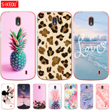 Case For Nokia 1 Plus Case Cover Cute Cartoon Silicon Soft Back Cover Nokia 1 For Nokia1 Plus Case Bag Bumper Coque Capa Phone(China)