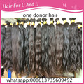 50-75cm One bundle140-150 gram Raw Virgin Brazilian Human hair Bulk braid from one donor lady head virgin hair