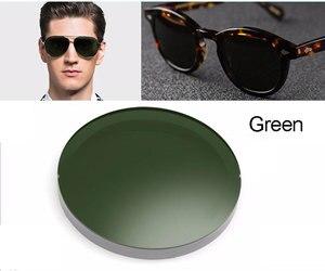 Image 2 - 1.499 1.61 1.67 polarizado prescrição CR 39 resina asférica óculos lentes miopia óculos de sol lente revestimento polarizado