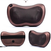 Home Car Dual Use Multifunction Massager Car Massage Pillow Neck Lumbar Leg Massager Infrared Heating Body