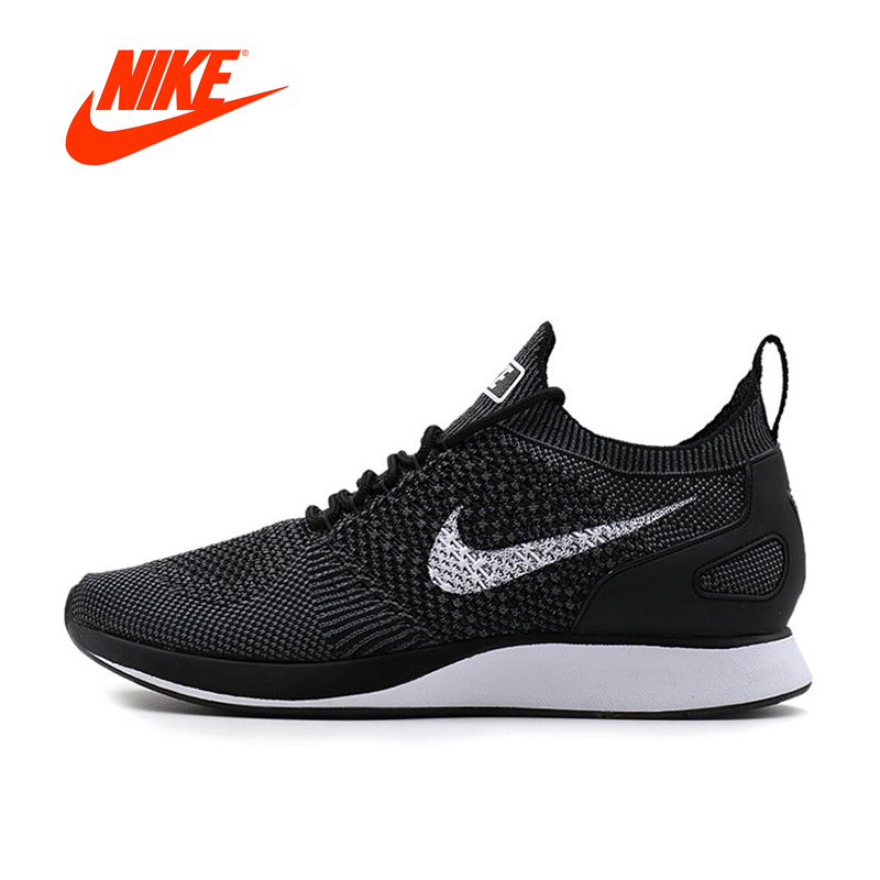 Original New Arrival Authentic Nike AIR ZOOM MARIAH FLYKNIT Men's Breathable Running Shoes Sport Outdoor Sneakers 918264-001 nike nike fc zoom mercurial xi flyknit