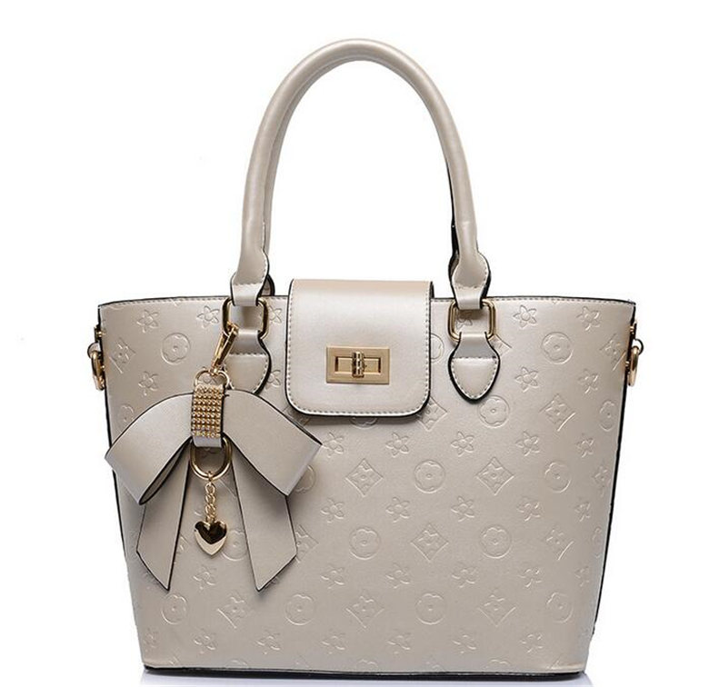 ФОТО 2017 Luxury Designer Bags For Women Brand 100% Genuine Leather Women Shoulder Bag Real Leather Tote Bag Party Wedding Handbag