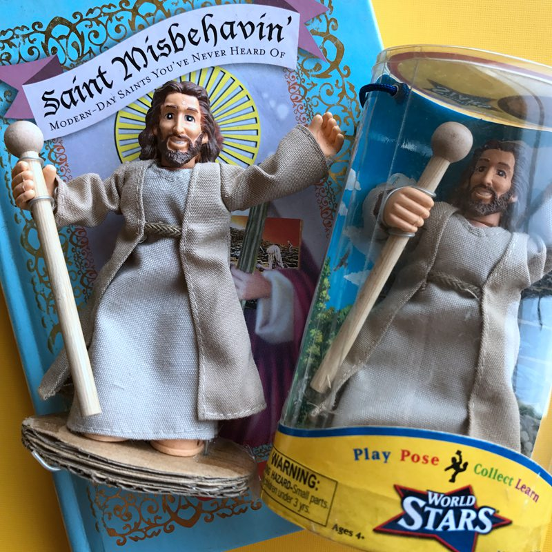 Original Box Toy Classic Jesus Of Nazareth Doll Action Figure Collectible Model Loose Toy In Stock for Christian