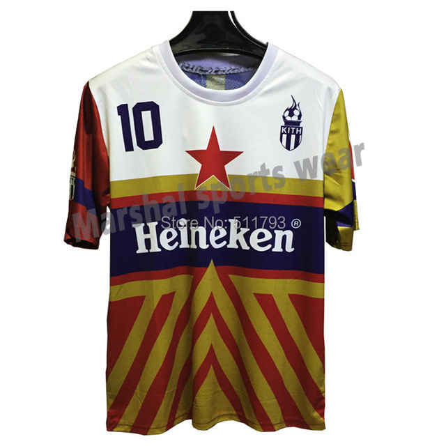 100% Polyester breathable sublimation soccer jersey print personalized voetbal shirts camisetas futbol