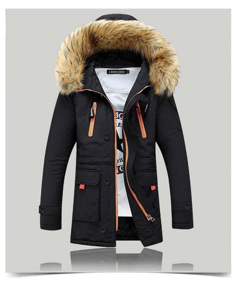 182644b2204 2016 Новая Зимняя Мужская Куртка Одежда Thicking Мужчины Пальто ...