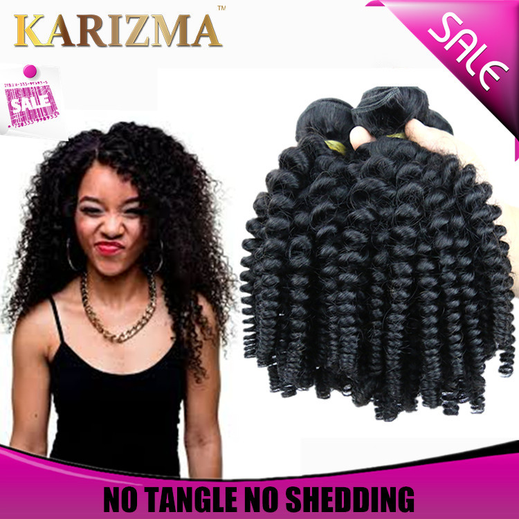 Malaysian afro  curly virgin hair 15pcs genesis virgin hair ...