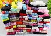 Lucia ремесла 10 ярдов/партия случайный Смешанный Вышитые кружево, лента, тесьма отделкой Ткань DIY Вышивание аксессуары для одежды 050025045 (1)