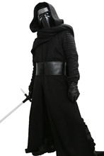 XCOSER Kylo Ren Costume V3 The Force Awakens Cosplay Villain Deluxe Completed Outfit Adult Size