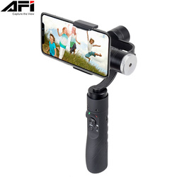 AFI V3 3-Axis Gimball Dslr Stabilizer For Phone Handheld Smartphone Gimbal For Iphone X 8Plus 8 7 Samsung S9 S8 & Action Camera