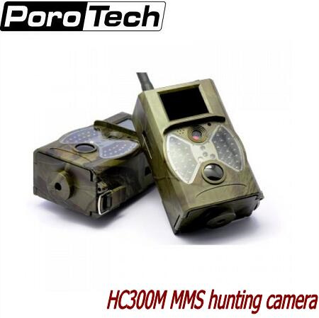 HOT 12MP 940nm NO glow Trail Cameras MMS Hunting Cameras Trap Game Cameras Black IR Wildlife Cameras HC300M exrizu ms 136bt portable wireless bluetooth speakers 15w outdoor led light speaker subwoofer super bass music boombox tf radio