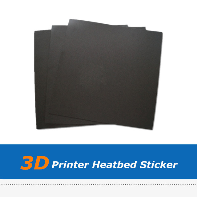 3pcs 214*214mm 3D Printer Heatbed Sticker With 0.5mm Thickness