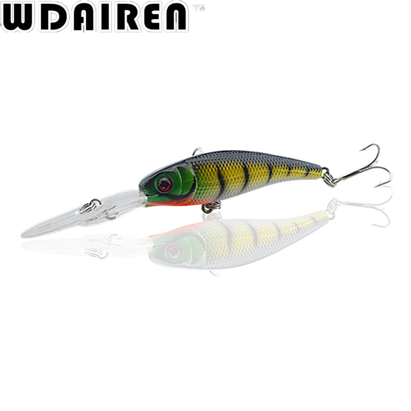 1Pcs crankbait swimbait Laser Minnow 10cm 7.8g Fishing Lure wobbler tackle   Artificial japan hard crankbait Fish bait pesca купить