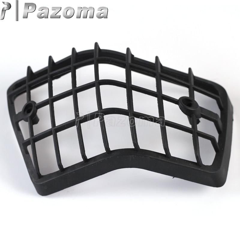 Gril de Protection pour indicateur lumineux moto | Noir, 4 pièces, couvercle pour Vespa Range LML Star 2/PE/Lusso T5 Classic