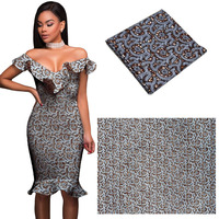 Ankara African Wax Print Fabric African Wax Women Dress Material 6yards African Wax Fabric Cotton Fashion