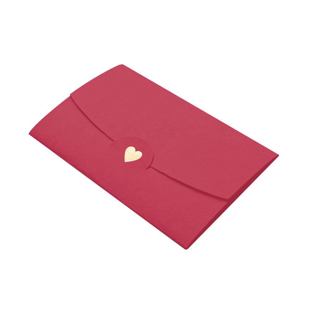 20pcs Business Pocket Paper Office Loving Heart DIY Craft Notes Mini Multifunction Envelopes Classical Gift Card Wedding