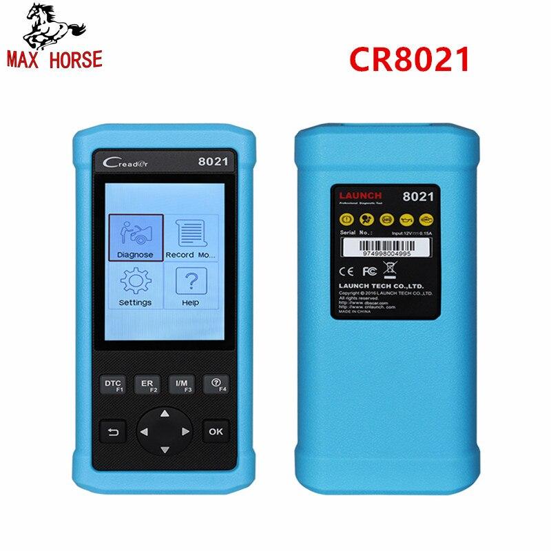 Launch CR8021 OBD2 Diagnostic Tool Oil Service BMS EPB ABS SRS Reset Check Full OBD2 Auto Scanner Maxicheck ODB Diagnosis
