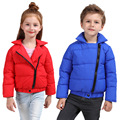Novas Crianças Inverno Down Jacket & Brasão Crianças Casacos Meninos e Roupas Quentes V-0482 Girlsr