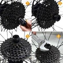 MTB Mountain Bike Bicycle Tools Freewheel Cassette Remover Maintenance Repair Tool For Bike Bicycle