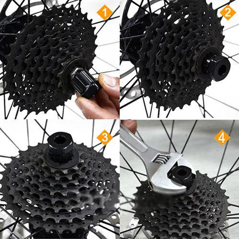 Mountain Bike MTB Bicycle Freewheel Remover Maintenance For Bike Bicycle Repair Tools Socket Wrench Repair Tool Maintenance